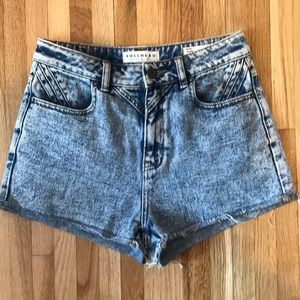Bullhead Denim Shorts Mom Shorts Size 7